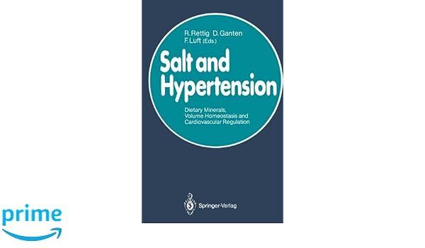 Salt and hypertension dietary minerals volume