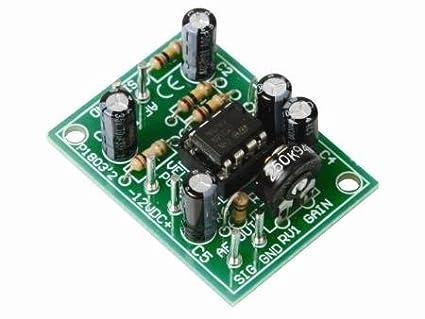 Universal Monno Pre-Amplifier Kit Velleman SA 80-1505