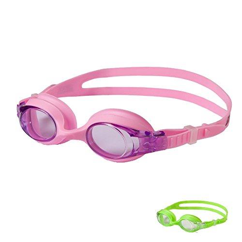 - Zoggs 300316-605 Zoggles - Swim Goggles (Pink/Light Purple)