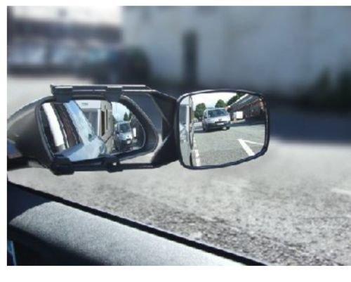 Wheels N Bits 2 x Caravan Towing Mirror Extension Car Wing Mirrors for Mazda 6 626