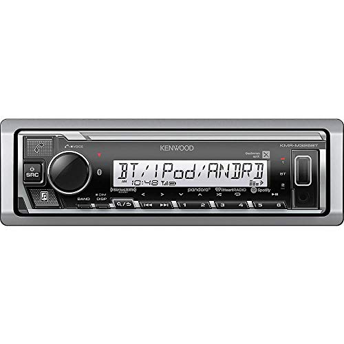Kenwood KMR-M325BT Single-DIN USB/MP3 Marine SiriusXM Ready Stereo w/Bluetooth