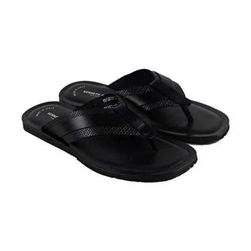 Kenneth Cole New York Design 108392 Mens Black Flip Flops Sandals Shoes 7 by Kenneth Cole New York