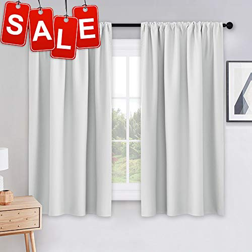 PONY DANCE White Draperies & Curtains - Room Darkening Rod P