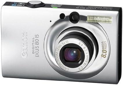 Canon Digital Ixus 80 Is Digitalkamera 2 5 Zoll Silber Kamera