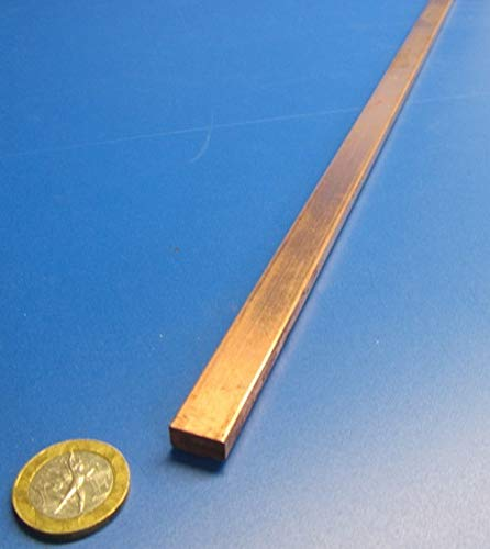 Length 1 Pc. 110 Copper Bar Stock.250 Thick x .500 Width x 3 Ft