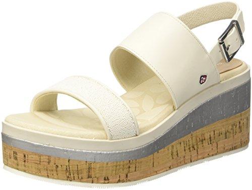 Tay Delle Bianche Sandals Strap white Whi Sandali Caviglia Ankle Uspolo Donne Tay Whi White Assn Cinghia Assn Sfere Women's bianco Uspolo Spheres wTxIHSvq