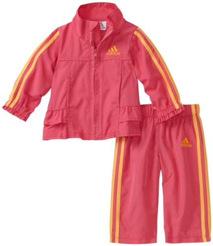 adidas Baby Girls' 2 Piece Pretty Wind Set