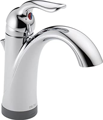 Delta 15938T-DST Lahara Single Handle Bathroom Faucet with Touch2O Technology, Chrome