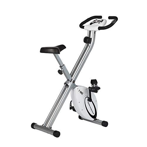 Ultrasport hometrainer F-Bike Advanced – LCD-display, opvouwbare hometrainer – verstelbare weerstandsniveaus – met…