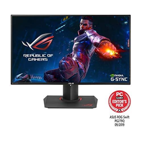 chollos oferta descuentos barato ASUS PG279Q ROG Swift Monitor para PC Desktop de 27 165 Hz WLED IPS resolución WQHD 2560 x 1440 16 9 brillo 350 cd m2 contraste 1 000 1