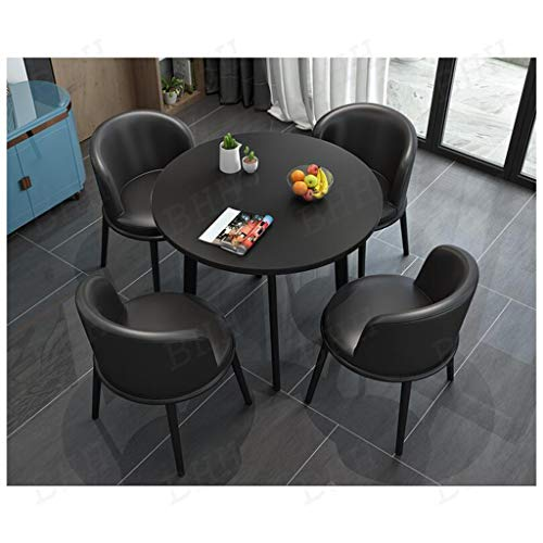 Table and Chair Combination, Negotiation Office Table and Chairs Set Dining Table Business Kitchen Restaurant Cafe Lounge Library Garden Bakery Shop Beverage Shop Living Room Department