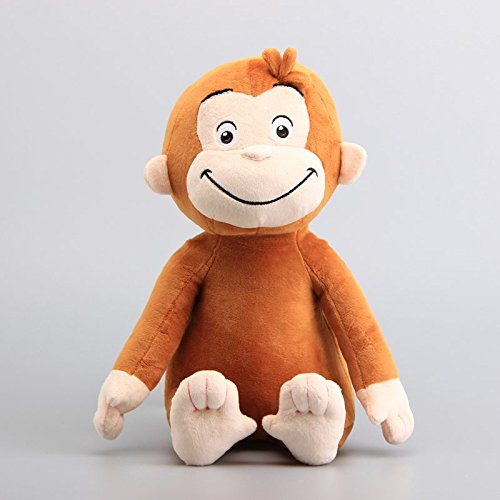Curious George With Yellow Hat - Curious George Monkey 12 Inch Inch Toddler Stuffed Animal Plush Kids Toys