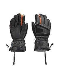 SNOTEK X-Series ST288X Winter Ski Gloves, Waterproof & Windproof - Fits Men & Women (Grey, L)