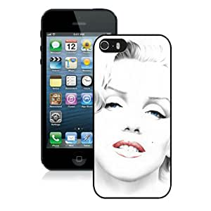 Marilyn Monroe Case For iPhone 5S/5 Black