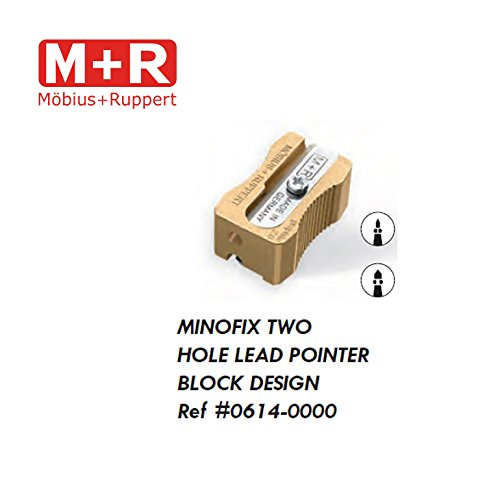 Mobius and Ruppert (M+R) For Brass Lead Pointer 2mm and 3.2mm block design (0614)