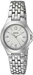 Armitron Women's 75/5342MPSV Silver-Tone Bracelet Watch