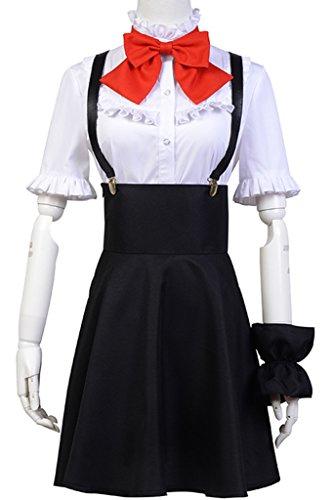 b13f883742f5d Ya-cos Dagashi Kashi Anime Hotaru Shidare Cosplay Costume Uniform Dress  Full Set