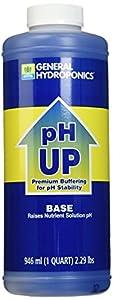 General Hydroponics Ph Up Liquid Fertilizer 1 Quart
