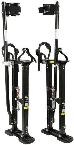 Warner 10771 24-Inch to 40-Inch Strap and Stride Drywall Stilts