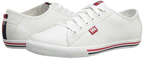 Helly Hansen W Oslofjord Canvas Zapatos de cordones oxford, Mujer, Blanco (Blanco 001), 39 EU (6 UK)