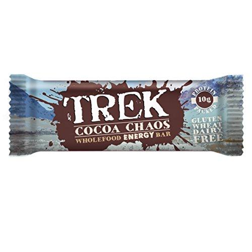 Trek Wholefood Energy Bar (16 x 55g) (Cocoa Chaos)