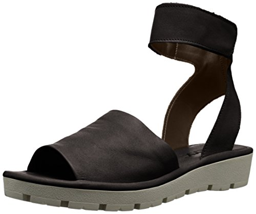 The Flat Guanto Black Sunscape Flexx Sandal Women's qq1rzpv7