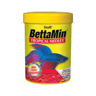 Tetra 16838 BettaMin Tropical Medley