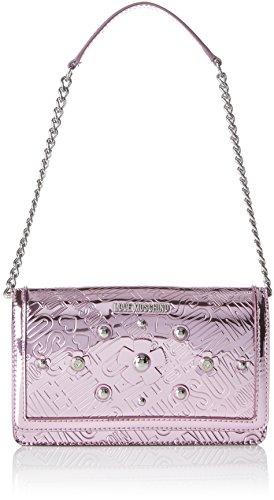 Rosa Moschino B bolsos 5x13x22 cm T Rosa Pink Shoppers de Embossed y Mujer H Love Borsa hombro Tpu x ZH0xIHqd