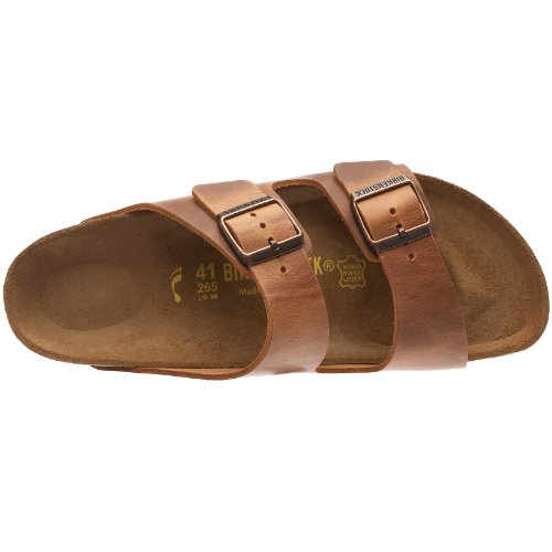 Arizona Brown Marrón Adulto Zapatos Unisex Birkenstock Antik Hebilla con 6zdZWzSn