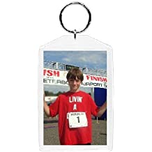 "Plastic Photo Snap-in Key Chain - 2x3"" (pack of 100)"