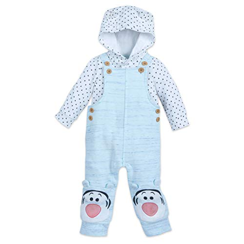 Disney Tigger Dungaree Set for Baby - Winnie The Pooh Size 3-6 MO Multi ()