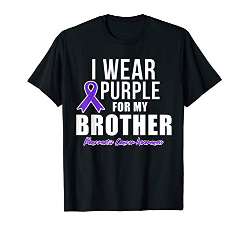 Pancreatic Cancer Shirt Brother Cancer Awareness Products