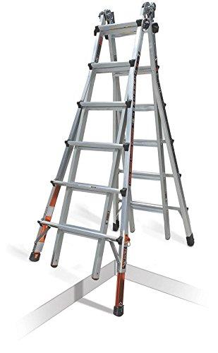Little Giant Quantum Multi-Use Ladder 300 Pound Rating (Model 26 Ratchet Levelers) reviews