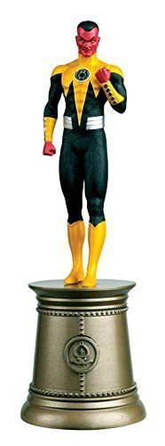 DC SUPERHERO CHESS FIGURINE COLLECTION MAGAZINE #83 SINESTRO BLACK BISHOP