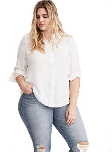 Shadow Stripe Button Down Shirt