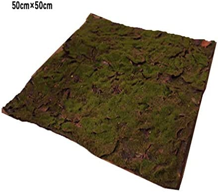 人工芝人工人工芝、シミュレートされた人工苔室内の背景壁の装飾 (Size : 5pack)