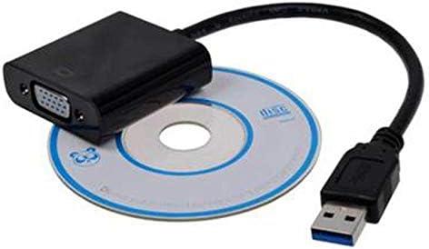 Socialism Convertidor de Adaptador USB 3.0 a VGA de Alta Velocidad ...