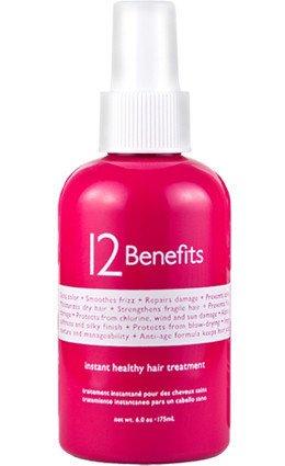 12 Преимущества мгновенных Здоровый уход за волосами, 6 унций