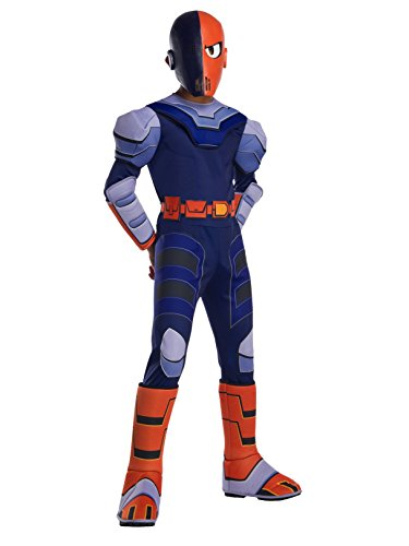 (Rubie's Boys Teen Titans Go Movie Deluxe Slade Costume, As Shown,)