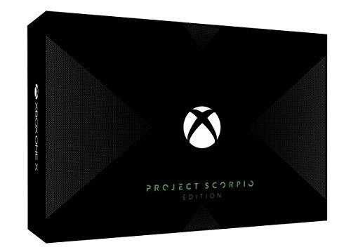Xbox One X本体 Project Scorpio エディション (HDD 1TB/FMP-00015)