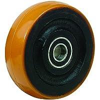 Bil bzh75wptbjm15serie WPT rueda, poliuretano en hierro fundido
