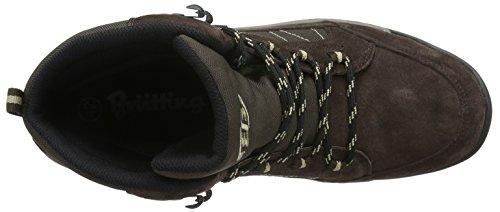 Bruetting Mount Mitchell, Zapatos de High Rise Senderismo para Hombre Marrón (BRAUN/BEIGE)