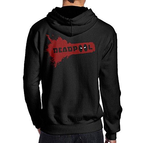 (SAMMOI Dead 2 Pool Men's Fleece Sweatshirt S)