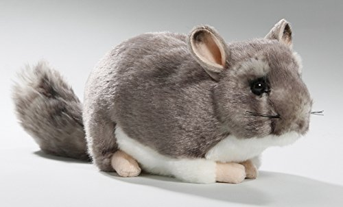 Chinchilla 8.5 inches Plush Toy 12 inches with Tail 23cm Soft Toy Stuffed Animal 3040 Imberi