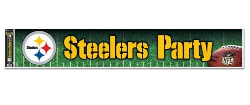 Pittsburgh Steelers Party Banner Idi5s5fe3K