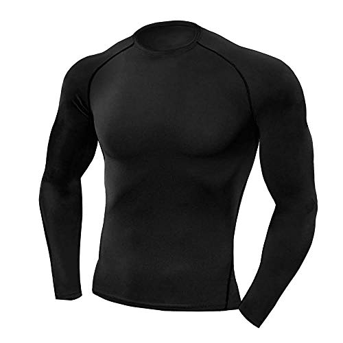 Copper Compression Long Sleeve Mens Recovery Support Best Compression Fit Shirt