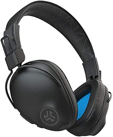 JLab Audio Studio Pro Bluetooth Wireless Over-Ear Headphones | 50+ Hour Bluetooth 5 Playtime | EQ3 Sound | Ultra-Plush Faux Leather & Cloud Foam Cushions | Track and Volume Controls | Black