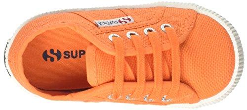 Superga Unisex-Kinder 2750-Cotbumpj Sneaker Arancione (Orange)
