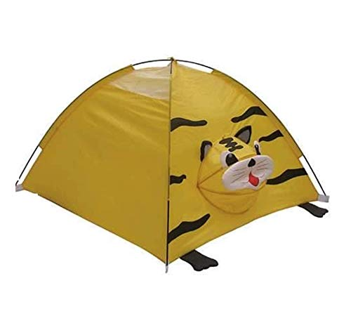 Children Animal Camping Dome Playhouse – 120 x 120 x 80cm, Kids Play Tent for Indoor, Outdoor Activities, Designer Tent…
