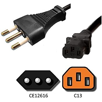 250V AC Power Cord Australia AS3112 to C19-3 Meters 3 Meter 15A H05VV-F Cable Iron Box Part # IBX-26256-03M